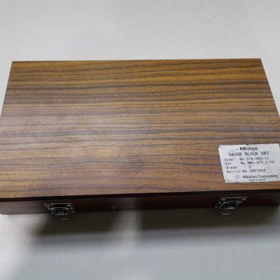 Mitutoyo Gauge Block Set (gebr.)