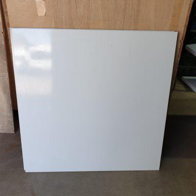 MDF Platten hochglanz weiß (40 qm)