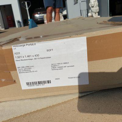 Holzzarge PortaLit 2-fl. A223 1921x1461x430