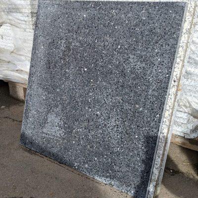 Granitplatten/Terrassenplatten anthrazit/dunkelgrau