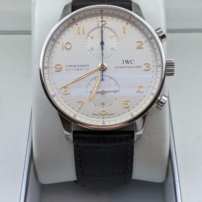 IWC Portugieser Chronograph Ref. 371445 Fullset