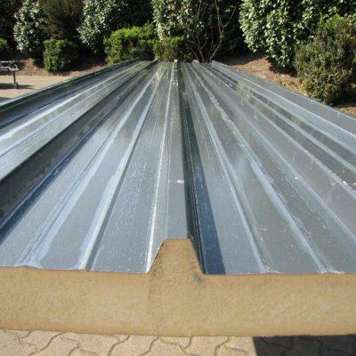 Dach-/Sandwichpaneele 6x1m anthrazit